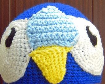 Crochet Piplup Pokemon Inspired Beanie Hat