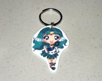 Sailor Neptune - Sailor Moon Keychain