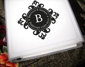 Wedding Planning Binder with Customized Eclectic Logo 1