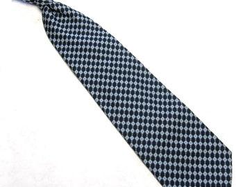 Blue Neck Tie Clipon Necktie