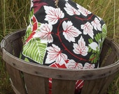 Tropical 20x20 inch Indoor/Outdoor Throw Pillow--SET OF TWO
