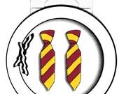 Neck Tie Earrings
