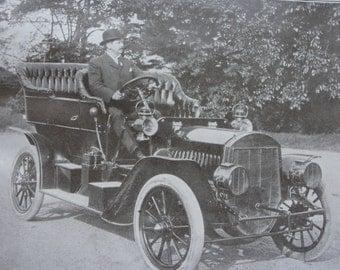 Sepia print - touring cars - original  - 1911