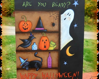E PATTERN - Are you ready for Halloween - Brand new design - From Terrye French & Sharon Bond - FAAP