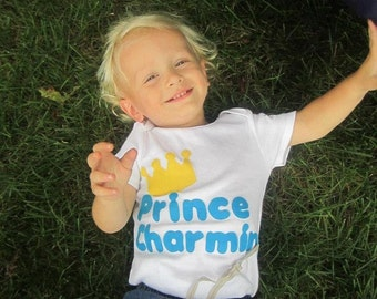 Prince Charming Tshirt or Onesie