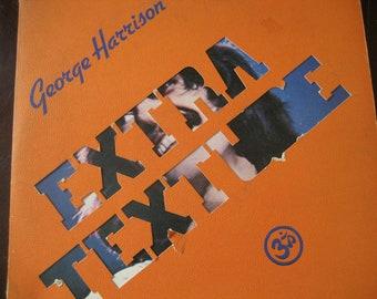 Vintage George Harrison Extra Texture LP Album