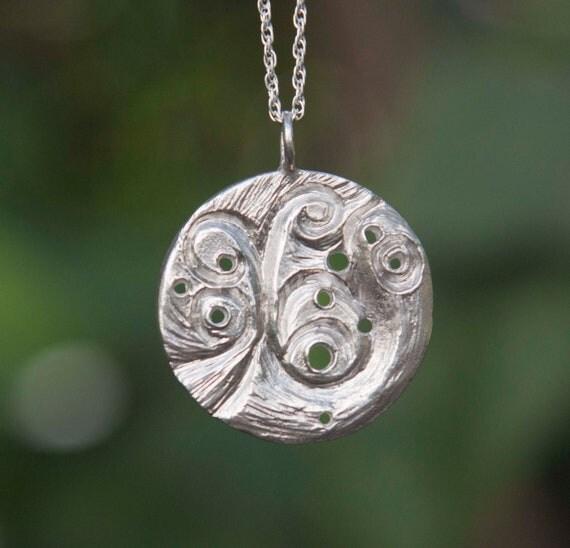 Leo Constellation Zodiac Necklace - Sterling Silver