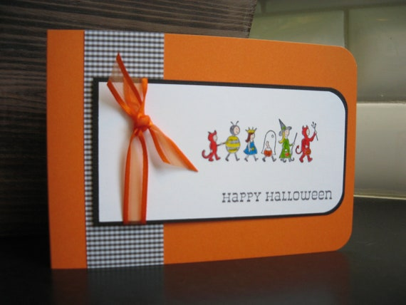 Reseved for Deidre: Halloween Card Costumes on Parade 6 Cards
