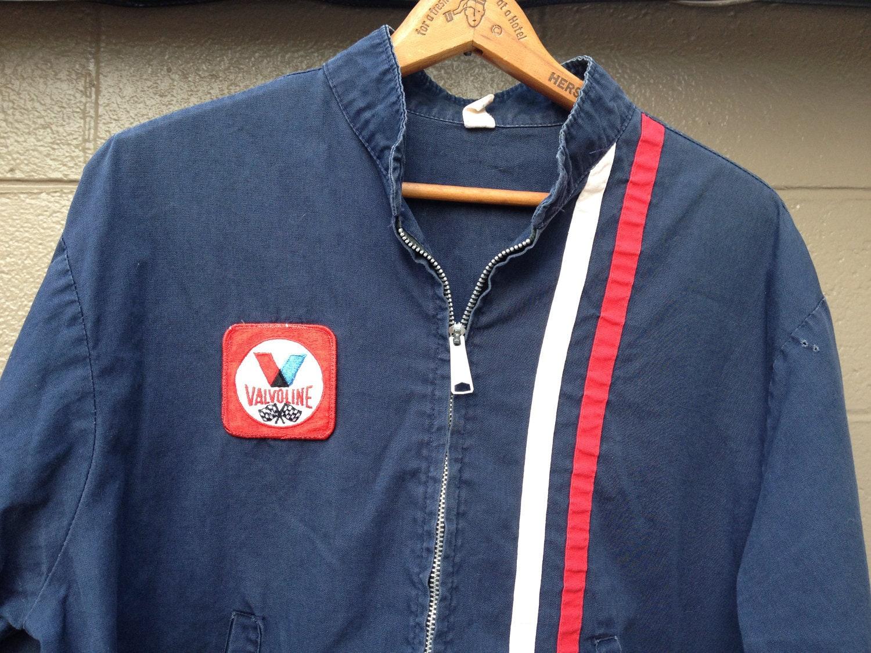 vintage valvoline racing jacket