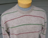 vintage 1960's -Andover- Men's crew neck pullover sweater. 100% Alpaca. Softest sweater ever...Medium - Large