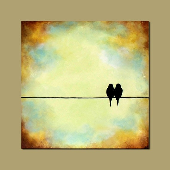 Diy birds on a wire wall art : Unavailable listing on etsy