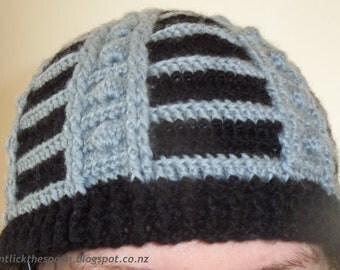Dalek-Inspired Hat Pattern