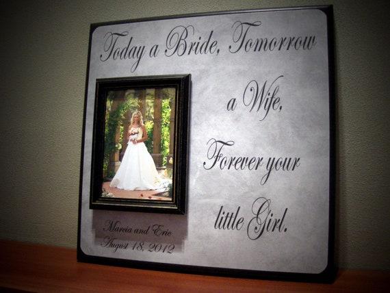 Memorable Wedding Gifts For Parents : Parents Wedding Gift, Mother of the Bride, Father of the Bride ...