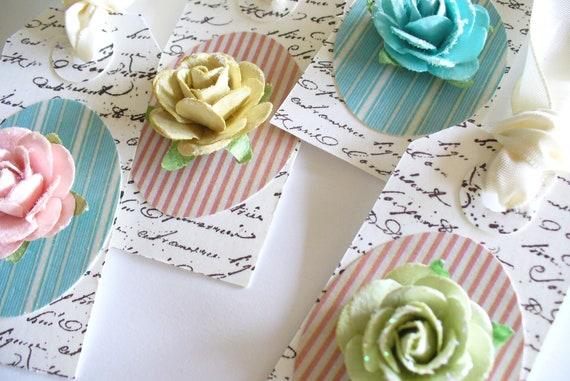 Shabby Chic Mini Gift Tags
