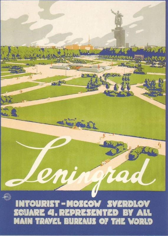 Welcome to the USSR. Soviet Travel Postcard. Leningrad. soviet propaganda, soviet union 1933 Soviet, soviet art, USSR, SovietArt