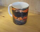 Marquette Mi Landmark Sunset  Coffee Mug