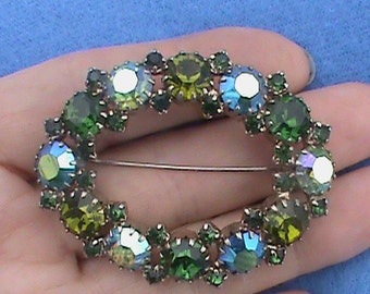 Gorgeous large vintage brooch