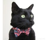 Cat Bow Tie - Old Glory