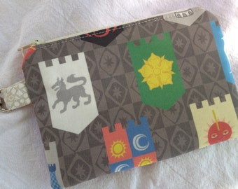 Game of Thrones House Sigils Small Zippered Pouch