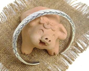 Handmade Silver Bracelet - Thai Silver Bracelet (8)