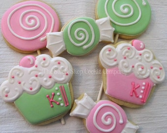 Sweet Shop Party Cookies 2 dozen