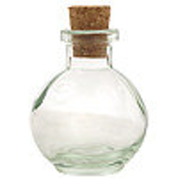 Ball Bottle with Cork Pouring Vase