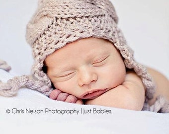 Knit Baby Boy Hat, Baby Boy Knit Hat, Baby Boy Winter Hat, Baby Boy Hat Photo Prop, Baby Boy Hat Newborn Hat, Toddler Hat Boy