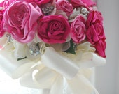 Custom Satin Handmade Bouquet