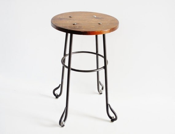 Industrial Stool or Plant Stand