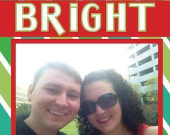 Making Spirits Bright Personalized Holiday Photo Card