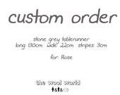 Order for Rose