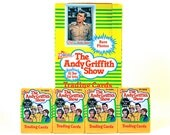 4 Andy Griffith Show Trading Card Packs by Pacific