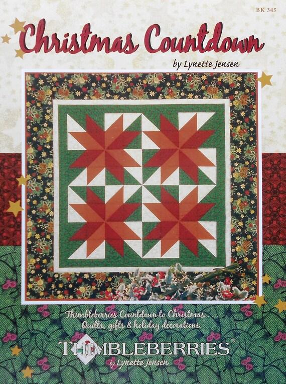 Thimbleberries By Lynette Jensen Christmas Countdown Patchwork