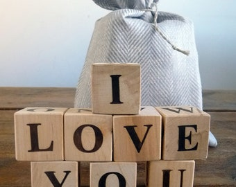 ABC Blocks, Wooden Blocks
