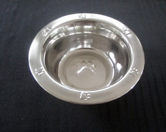 Stainless Steel Bowl (1 Pint) - Cat Station
