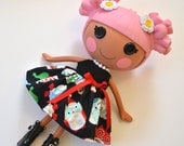 Happy Owlidays Dress for Full Size Lalaloopsy Doll