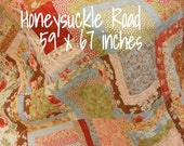 Honeysuckle Road pattern designed by Mickey Zimmer for Sweetwater Cotton Shoppe