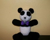 Baby Panda Bear - Stuffed Animal -  Amigurumi