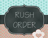 RUSH ORDER Upgrade -  Ships within 48 business hours