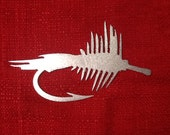 christmas tree ornament holiday ornament Fly Fish Hook 16