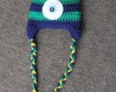 Little Monster Hat. 0-3 mo