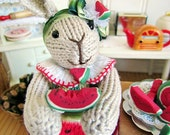 Original Remy Rabbit created by Lenore Angela of Rare Rabbits Designs