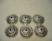 Bead Caps Antique Silver Pewter Alloy  - Lead Free 14MM