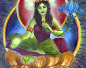 Buddhist art The Goddess Green Tara