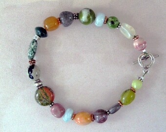 Multigem celebration bracelet 3