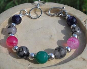 Rainbow Agate Bracelet
