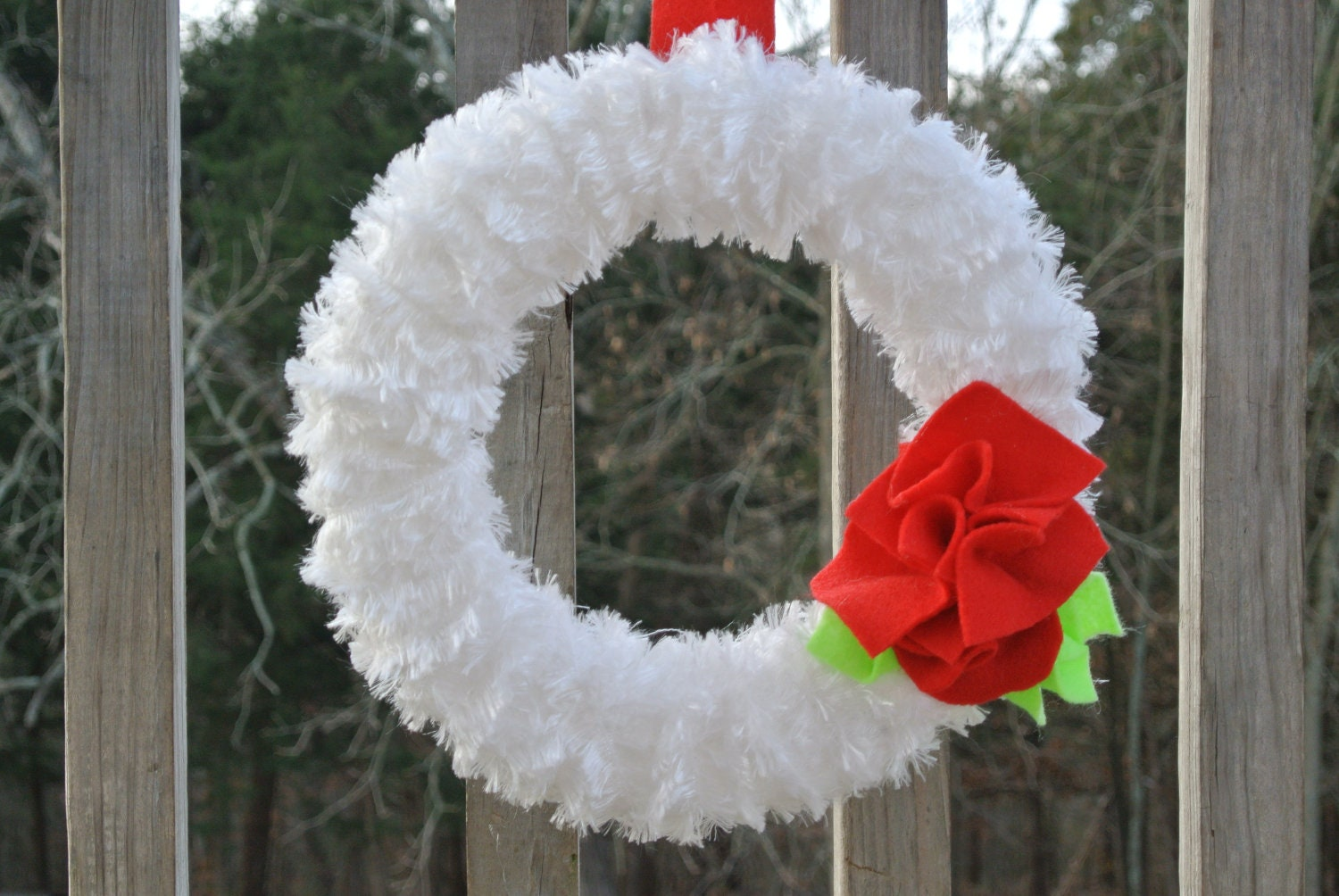 Holiday decor christmas wreath decorations handmade by jcbees for Handmade things for decoration