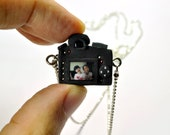 Personalized Nikon D7000 Camera miniature necklace