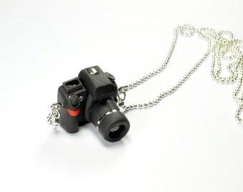 Nikon D7000 Camera miniature necklace