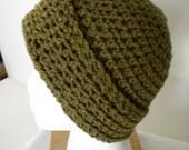Handmade 100% Acrylic Bark Colored Yarn Adult Hat - 2177, 2187